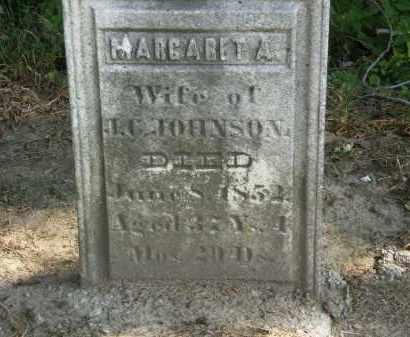 JOHNSON, MARGARET A. - Delaware County, Ohio   MARGARET A. JOHNSON - Ohio Gravestone Photos