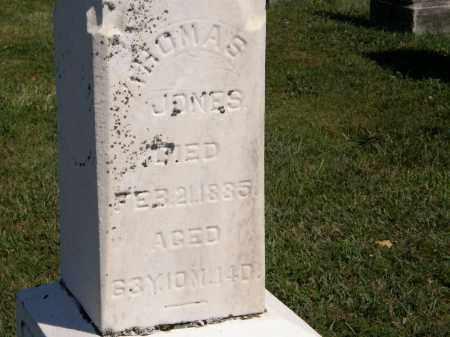 JONES, THOMAS - Delaware County, Ohio | THOMAS JONES - Ohio Gravestone Photos
