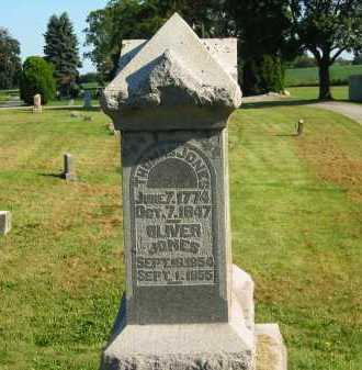 JONES, OLIVER - Delaware County, Ohio | OLIVER JONES - Ohio Gravestone Photos