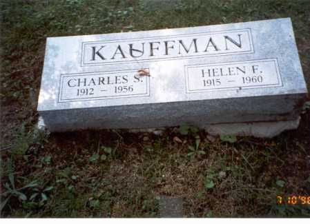 KAUFFMAN, CHARLES S. - Delaware County, Ohio | CHARLES S. KAUFFMAN - Ohio Gravestone Photos