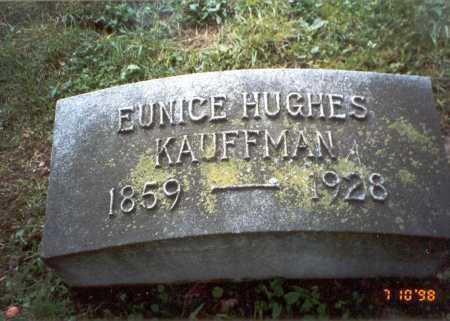 KAUFFMAN, EUNICE - Delaware County, Ohio   EUNICE KAUFFMAN - Ohio Gravestone Photos