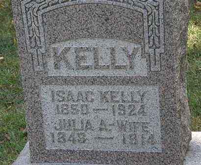 KELLY, JULIA A. - Delaware County, Ohio | JULIA A. KELLY - Ohio Gravestone Photos