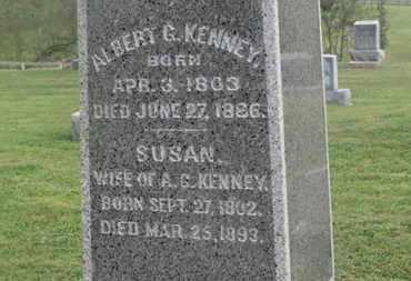 KENNEY, ALBERT G. - Delaware County, Ohio | ALBERT G. KENNEY - Ohio Gravestone Photos