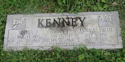 SMITH KENNEY, ANNA S. - Delaware County, Ohio | ANNA S. SMITH KENNEY - Ohio Gravestone Photos