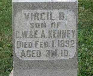 KENNEY, VIRGIL B. - Delaware County, Ohio | VIRGIL B. KENNEY - Ohio Gravestone Photos