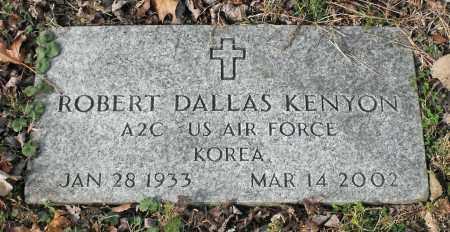 KENYON, ROBERT DALLAS - Delaware County, Ohio | ROBERT DALLAS KENYON - Ohio Gravestone Photos