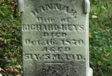 KEYS, HANNAH - Delaware County, Ohio | HANNAH KEYS - Ohio Gravestone Photos