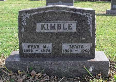 VINING KIMBLE, EVAH MARIE - Delaware County, Ohio | EVAH MARIE VINING KIMBLE - Ohio Gravestone Photos
