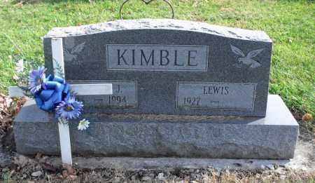 JONES KIMBLE, MARTHA - Delaware County, Ohio | MARTHA JONES KIMBLE - Ohio Gravestone Photos