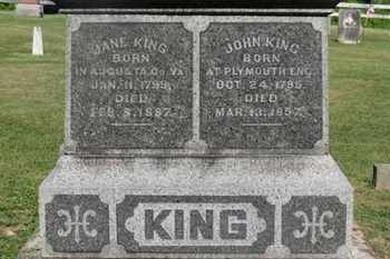 KING, JOHN - Delaware County, Ohio | JOHN KING - Ohio Gravestone Photos