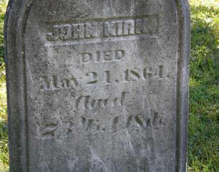 KIRK, JOHN - Delaware County, Ohio | JOHN KIRK - Ohio Gravestone Photos