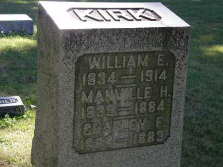 KIRK, WILLIAM E - Delaware County, Ohio   WILLIAM E KIRK - Ohio Gravestone Photos
