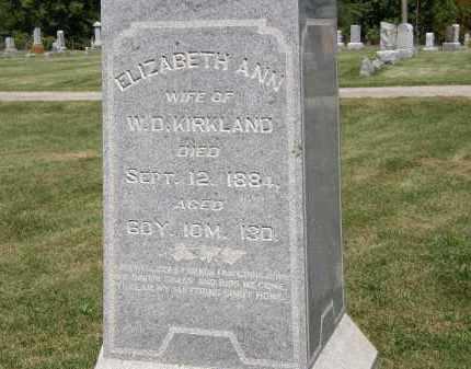 KIRKLAND, W.D. - Delaware County, Ohio | W.D. KIRKLAND - Ohio Gravestone Photos