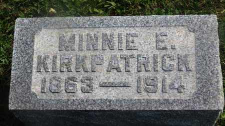 KIRKPATRICK, MINNIE E. - Delaware County, Ohio | MINNIE E. KIRKPATRICK - Ohio Gravestone Photos