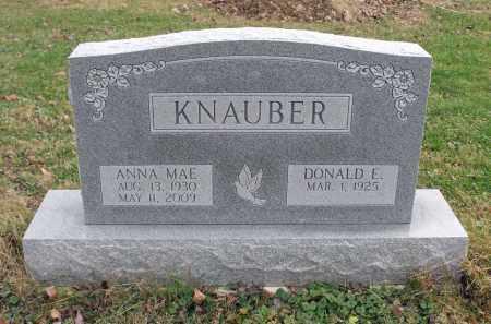 KNAUBER, DONALD E. - Delaware County, Ohio | DONALD E. KNAUBER - Ohio Gravestone Photos