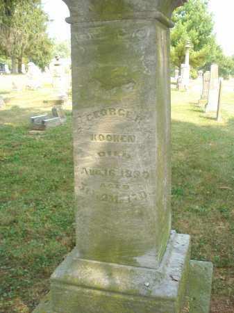 KOOKEN, GEORGE R - Delaware County, Ohio   GEORGE R KOOKEN - Ohio Gravestone Photos