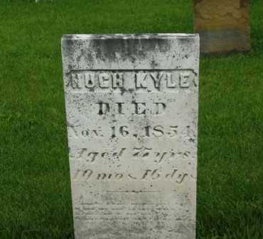 KYLE, HUGH - Delaware County, Ohio   HUGH KYLE - Ohio Gravestone Photos