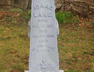 LAKE, ISAAC - Delaware County, Ohio   ISAAC LAKE - Ohio Gravestone Photos