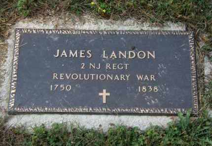 LANDON, JAMES - Delaware County, Ohio | JAMES LANDON - Ohio Gravestone Photos