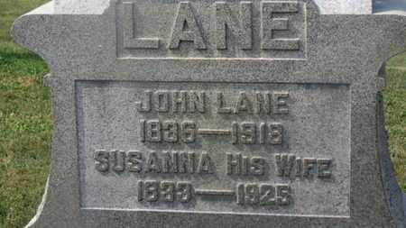 LANE, JOHN - Delaware County, Ohio | JOHN LANE - Ohio Gravestone Photos