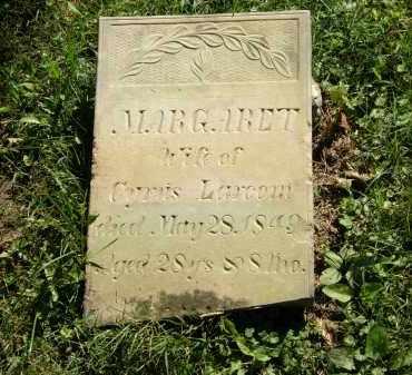 LARCOM, MARGARET - Delaware County, Ohio   MARGARET LARCOM - Ohio Gravestone Photos