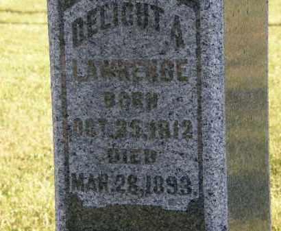 LAWRENCE, DELIGHT A. - Delaware County, Ohio | DELIGHT A. LAWRENCE - Ohio Gravestone Photos