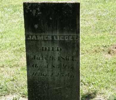 LIGGET, JAMES - Delaware County, Ohio | JAMES LIGGET - Ohio Gravestone Photos