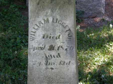 LIGGET, WILLIAM JR. - Delaware County, Ohio   WILLIAM JR. LIGGET - Ohio Gravestone Photos
