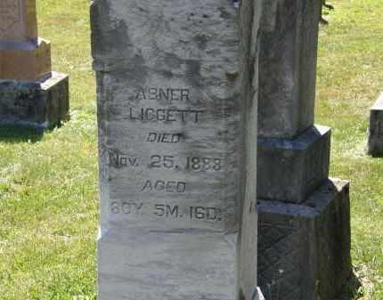 LIGGETT, ABNER - Delaware County, Ohio | ABNER LIGGETT - Ohio Gravestone Photos