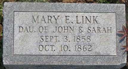 LINK, DARAH - Delaware County, Ohio | DARAH LINK - Ohio Gravestone Photos