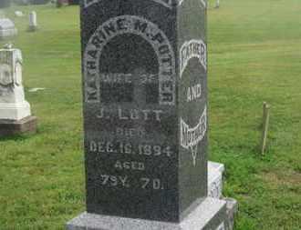 LOTT, KATHARINE M. - Delaware County, Ohio   KATHARINE M. LOTT - Ohio Gravestone Photos