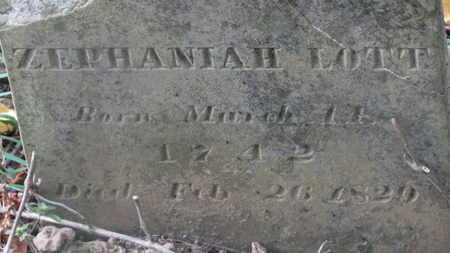 LOTT, ZEPHANIAH - Delaware County, Ohio | ZEPHANIAH LOTT - Ohio Gravestone Photos