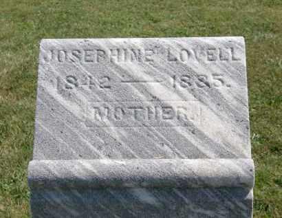 LOVELL, JOSEPHINE - Delaware County, Ohio | JOSEPHINE LOVELL - Ohio Gravestone Photos