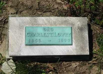 LOWRY, CHARLES T. - Delaware County, Ohio   CHARLES T. LOWRY - Ohio Gravestone Photos