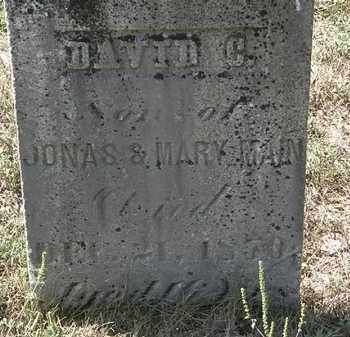 MAIN, JONAS - Delaware County, Ohio | JONAS MAIN - Ohio Gravestone Photos