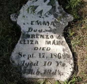 MAIN, ELIZA - Delaware County, Ohio | ELIZA MAIN - Ohio Gravestone Photos