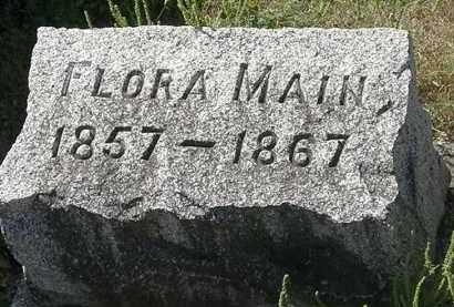 MAIN, FLORA - Delaware County, Ohio | FLORA MAIN - Ohio Gravestone Photos