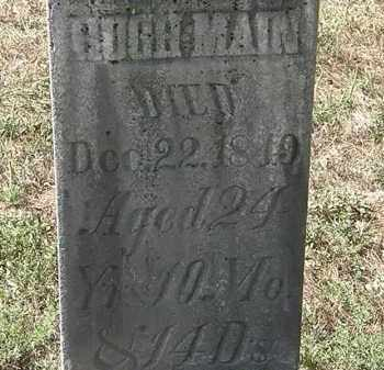 MAIN, HUGH - Delaware County, Ohio | HUGH MAIN - Ohio Gravestone Photos