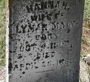 MAIN, LYMAN - Delaware County, Ohio | LYMAN MAIN - Ohio Gravestone Photos