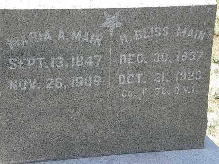 MAIN, MARIA A. - Delaware County, Ohio | MARIA A. MAIN - Ohio Gravestone Photos