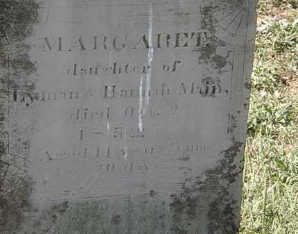 MAIN, HANNAH - Delaware County, Ohio | HANNAH MAIN - Ohio Gravestone Photos