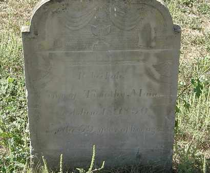 MAIN, TIMOTHY - Delaware County, Ohio | TIMOTHY MAIN - Ohio Gravestone Photos