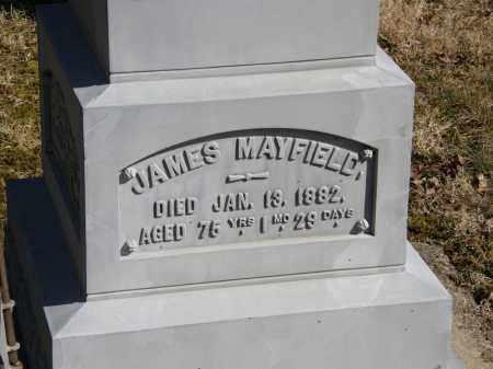 MAYFIELD, JAMES - Delaware County, Ohio | JAMES MAYFIELD - Ohio Gravestone Photos