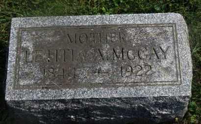 MCCAY, LETITIA - Delaware County, Ohio   LETITIA MCCAY - Ohio Gravestone Photos