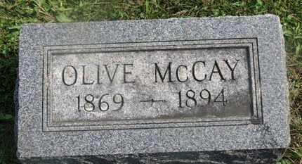MCCAY, OLIVE - Delaware County, Ohio | OLIVE MCCAY - Ohio Gravestone Photos