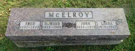 MCELROY, HOWARD - Delaware County, Ohio | HOWARD MCELROY - Ohio Gravestone Photos