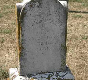 MEEKER, ELISHA - Delaware County, Ohio | ELISHA MEEKER - Ohio Gravestone Photos