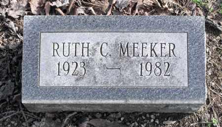 MEEKER, RUTH C. - Delaware County, Ohio | RUTH C. MEEKER - Ohio Gravestone Photos