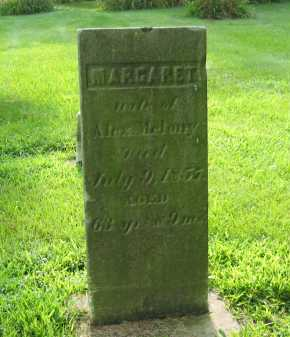 MELONY, MARGARET - Delaware County, Ohio | MARGARET MELONY - Ohio Gravestone Photos