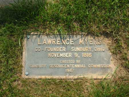MEYERS, LAWRENCE - Delaware County, Ohio | LAWRENCE MEYERS - Ohio Gravestone Photos